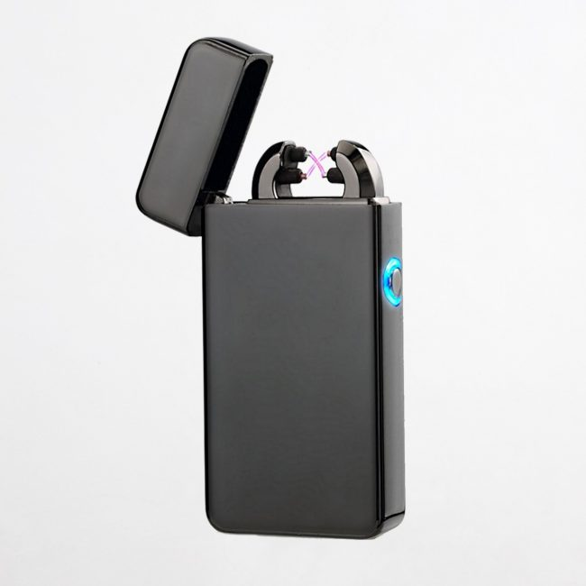 Oppladbar USB Lighter (Sort)